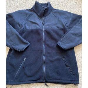 DSCP by Peckham Polartec black fleece jacket